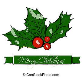 holly., kerstmis