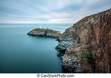 Hollyhead lighthouse