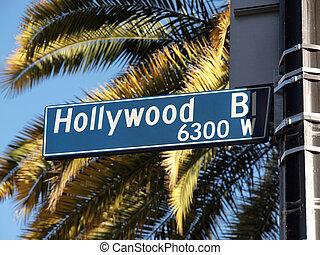 Hollywood Blvd Palms