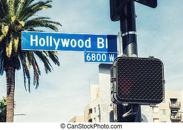 Hollywood Boulevard sign