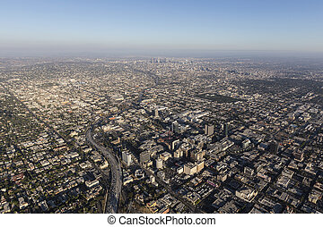 Hollywood California Aerial