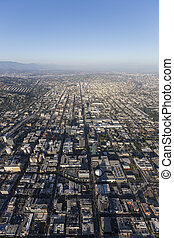 Hollywood California Vertical Aerial