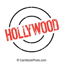 Hollywood rubber stamp