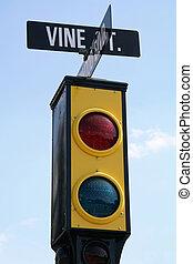 Hollywood Traffic Signal
