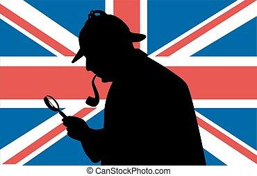 holmes, vlag, sherlock, uk