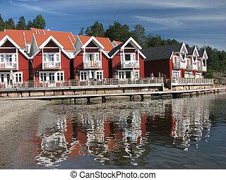 holmsbu, scandinavie, norvège, recours