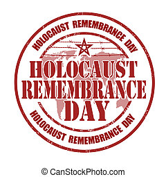 Holocaust remembrance day stamp - Holocaust remembrance day...