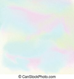 hologram watercolour effect background 1005 - Abstract...