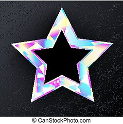 holographic, étoile