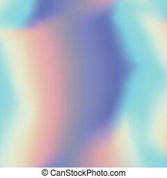 holographic, abstratos, fundo, em, pastel, néon, cor, design.