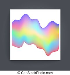 Holographic background vector - Universal different...