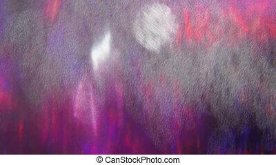 holographic, coloré, dynamique, nostalgique, arrière-plan., ...