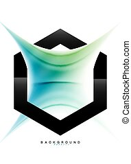 holographic, effekt, flüssige bewegung, farben, hintergrund, strömend, wirbel, abstrakt