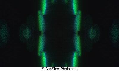 holographic, néon, nostalgique, arrière-plan., mode, multi-...
