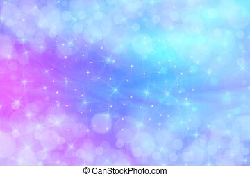 holographic vector illustration in pastel color galaxy fantasy background the pastel sky with image csp58176875