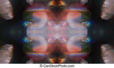 holographic, vendange, arrière-plan., branché, futuriste, ...
