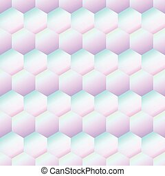 holography rhombus pattern