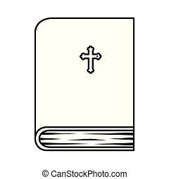 holy bible book icon vector illustration design