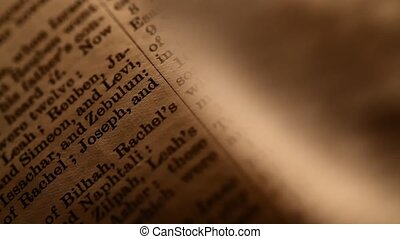 Holy Bible  - Antique Holy Bible