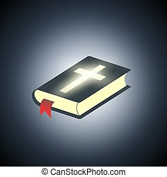 Holy Bible. Symbol of religion