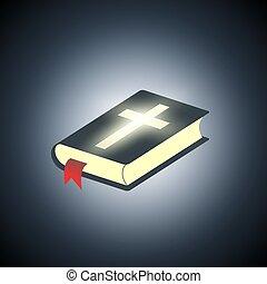 Holy Bible. Symbol of religion