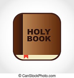 holy book design, vector illustration eps10 graphic