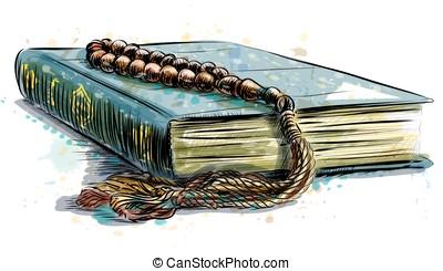 holy book of the Koran