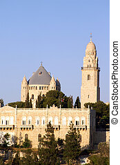 Holy church in Jerusalem