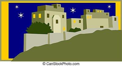 Holy City - Oh little town of Bethlehem.