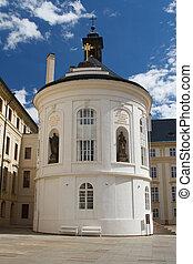 Holy Cross chapel in Prague Castle