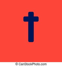Holy Cross Icon Design