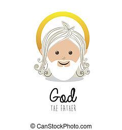 holy design over white background vector illustration