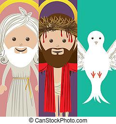 holy design over colors background vector illustration