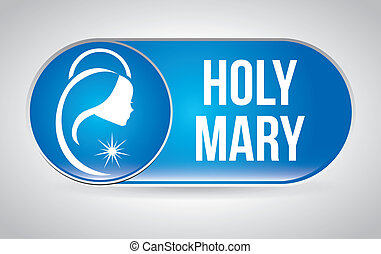 holy mary design , vector illustration