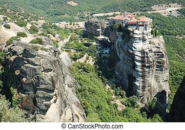 Holy Monastery of Varlaam,Meteora,Greece,unesco heritage site