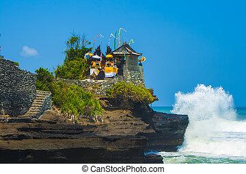 Holy place near Tanah Lot