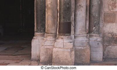 Holy Sepulchre 2 - Holy Sepulcher columns
