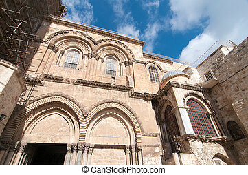 Holy Sepulchre in Old City of Jerusalem