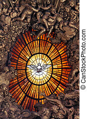 Holy Spirit Dove - The Dove Iconographic symbol of the Holy...