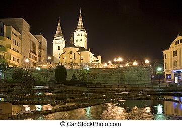 Zilina - Holy Trinity Cathedral (slovak: Katedrala...