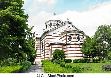 Orthodox Church of the Holy Trinity in the Dobrich Town, Bulgaria