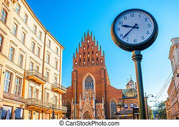 Holy Trinity church in Krakow - View on Holy Trinity church...