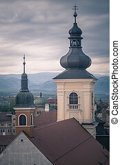 Holy Trinity Church in Sibiu