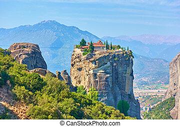 Holy Trinity monastery in Greece - The Holy Trinity orthodox...