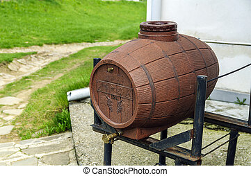 Holy water barrel