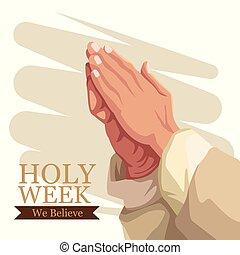 Holy week catholic tradition