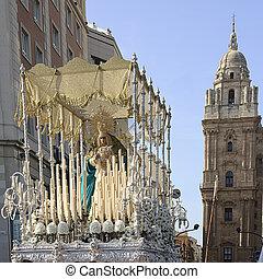 Holy week - holy week in Malaga