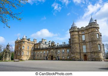holyrood, escocia, palacio, edimburgo