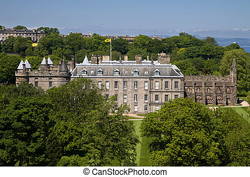 Holyrood House, Edinburgh - Holyrood House in Edinburgh is...