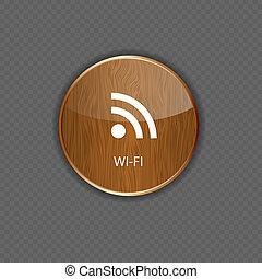 holz, heiligenbilder, wi-fi, anwendung